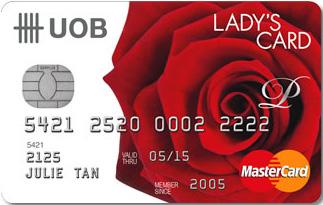 Informasi Kartu kredit UOB Master card lady's | pilihkartu.com