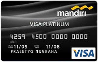 Informasi Kartu Kredit Mandiri Visa Platinum | pilihkartu.com