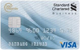 Informasi kartu kredit standard chartered visa business | pilihkartu.com