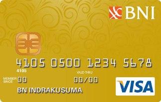 Informasi Kartu Kredit BNI Visa Gold | pilihkartu.com