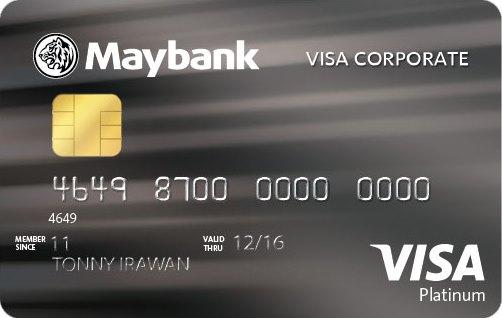 Informasi Kartu Krredit BII Visa Corporate | pilihkartu.com