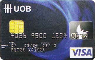 Informasi kartu kredit UOB Visa Classic Card | pilihkartu.com