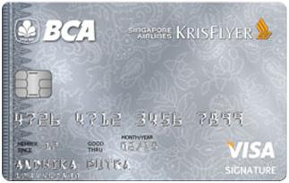 Info Kartu Kredit BCA Flyer Visa Signature | pilihkartu.com