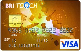 Informasi Kartu Kredit BRI Visa Touch Gold | pilihkartu.com