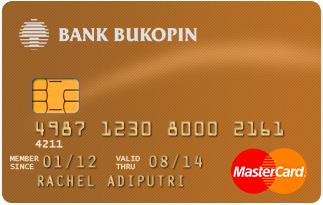 Info Kartu Kredit Bukopin Master Card Gold | pilihkartu.com