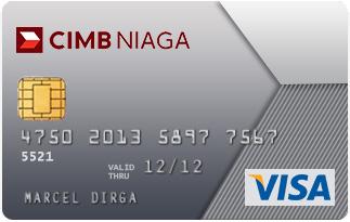 Informasi kartu kredit CIMB Niaga visa classic | pilihkartu.com
