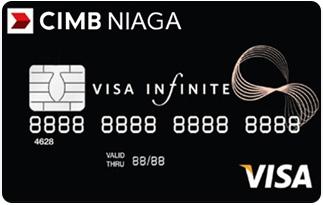Informasi kartu kredit CIMB Niaga Visa Infinite | pilihkartu.com