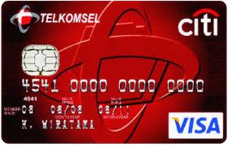 Informasi Kartu Kredit Citibank Telkomsel | pilihkartu.com