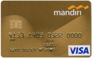 Informasi Kartu Kredit Mandiri Gold Card | pilihkartu.com