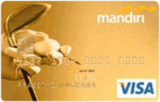 Informasi Kartu Kredit Mandiri Visa Golf Gold | pilihkartu.com