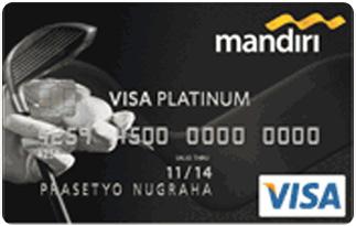 Infromasi Kartu Kredit Mandiri Visa Golf Platinum | pilihkartu.com