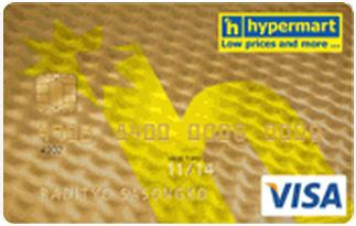 Informasi kartu Kredit Mandiri Visa Hypermart Gold | pilihkartu.com