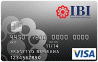 Infromasi Kartu Kredit Mandiri IBI Card | pilihkartu.com