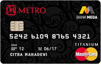 Info Kartu Kredit Metro Mega Card | pilihkartu.com