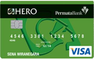 Info kartu Kredit Permata Hero Silver Card | pilihkartu.com