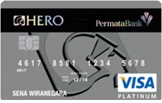 Info kartu Kredit Permata Hero Platinum card | pilihkartu.com