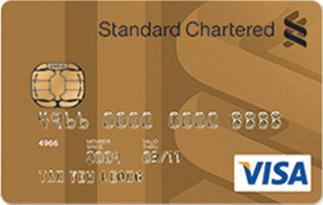 Informasi Kartu Kredit Standard Chartered Visa Gold | pilihkartu.com