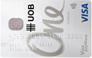Informasi kartu kredit UOB Visa One Card | pilihkartu.com
