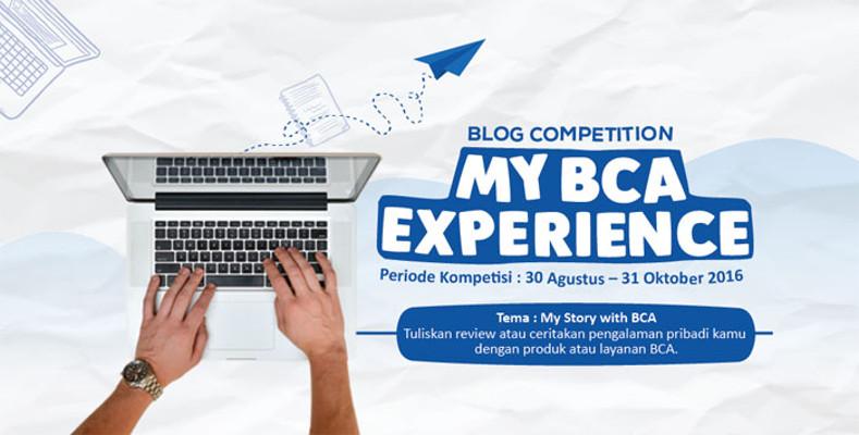 Yuk Ikut Kompetisi Blog BCA dan Menangkan Macbook Pro!