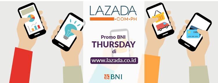 Promo BNI Thursday di Lazada dengan Kartu Kredit BNI