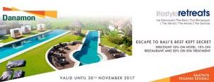 Dapatkan diskon menarik escape to Bali's best kept secret
