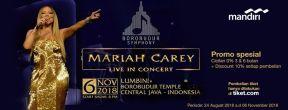 Mariah Carey Live in Concert 2018 Borobudur