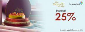 Hemat 20% di The Mandarin Cake Shop dengan Permata Kartu Kredit