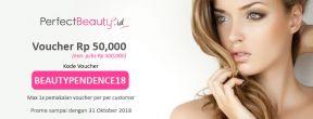 Dapatkan Voucher Perfect Beauty Rp 50,000 Gratis!