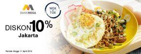 Diskon 10% di Wok n Tok dengan Kartu Kredit Mega
