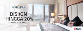 Diskon Hingga 20% di AccorHotels dengan Kartu Kredit UOB