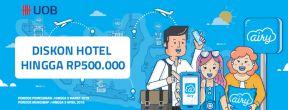 Diskon Hingga 500.000 di AiryRooms dengan Kartu Kredit UOB