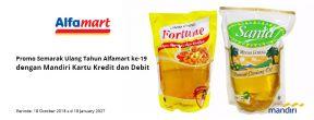 Tebus Murah Minyak Goreng Sania/Fortune di Alfamart dengan Mandiri Kartu Kredit