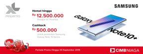Cashback Hingga 12,5jt + Ekstra Cashback 500K + Cicilan 0% dengan Kartu Kredit CIMB Niaga di XL Center