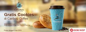 Gratis Cookies di Caribou Coffee dengan Kartu Kredit OCBC NISP