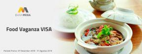 VISA Food Vaganza dengan Kartu Kredit Mega