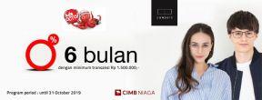 Promo Cicilan 0% tenor 6 bulan di Own Days dengan Kartu Kredit CIMB Niaga