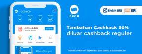Ekstra Cashback 30% di Dana dengan Kartu Kredit BRI