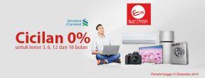 Cicilan 0% di seluruh gerai Electronic Solution dengan Kartu Kredit Standard Chartered