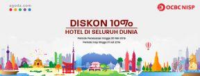 Diskon 10% Pesan Hotel di Agoda dengan Kartu Kredit OCBC NISP