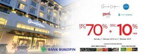 Diskon Hingga 70% rooms + Diskon 10% F&B di Dafam Hotel dengan Kartu Kredit Bukopin
