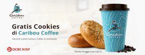 Gratis Cookies di Caribou Coffee dengan OCBC Kartu Kredit