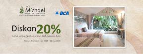 Diskon 20% di The Michael Resort dengan Kartu Kredit BCA
