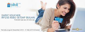 Voucher 250ribu Setiap Bulan dari Kartu Kredit MNC