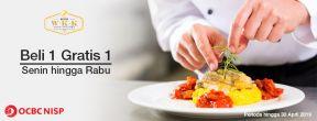 Beli 1 Gratis 1 di WARUNG W.K.K FOOD FACTORY dengan Kartu Kredit OCBC NISP