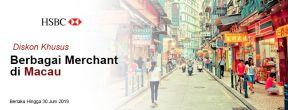Penawaran Diskon Spesial di Berbagai Merchant di Macau dengan Kartu Kredit HSBC Mastercard