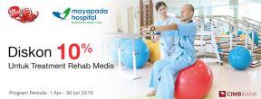 Diskon 10% di Mayapada Hospital dengan Kartu Kredit CIMB Niaga