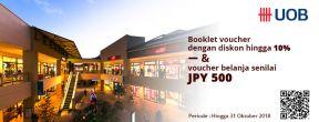 Diskon Spesial dan Voucher Belanja saat Belanja di Jepang dengan Kartu Kredit UOB