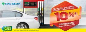 Cashback SPBU 10% dengan Kartu Kredit Bukopin