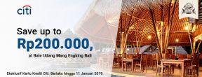 Save up to Rp200.000,- at Bale Udang Mang Engking Bali