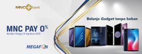 Megafon Cicilan 0% dengan Kartu Kredit MNC